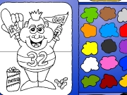Man coloring Game