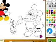 Mickey coloring Game