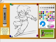 Dragon ball coloring 3 Game