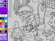 Le Coloring Book Rugrats in Paris Game