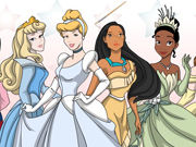 Disney Princesess Coloring Game