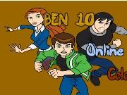 ben 10 online färbung spiel
