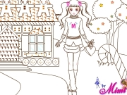 Mimi Online Coloring Game