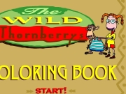 The wild thornberrys coloring book Game