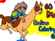 Go Diego go online coloring Game