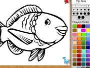 Fish online coloring Game