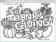 Thanksgiving coloring 2 Game