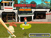 Chicken Little  Batting Practice Game