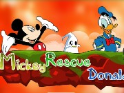 Mickey Rescue Donald Game