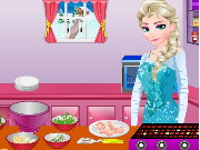 Elsa Greek Chicken Game