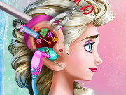 Elsa Ear Emergency Game