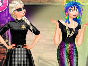 Frozen Fashion Police Game