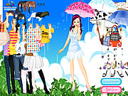 Spring Rain Dress up Game
