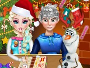 Elsa Naughty Christmas Game