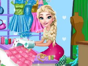 Elsa Tailor Shop Game