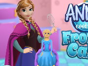 About Anna Cooking Frozen Cake Game