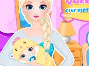 queen Elsa Give Birth To A Baby Girl Game