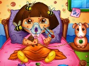 Dora Bee Sting Doctor Game