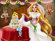 Rapunzel Wedding Deco Game