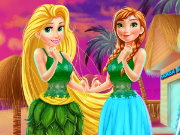 Disney Princesses Hawaii Shopping Game