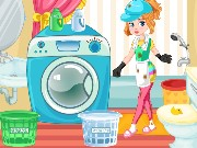Clumsy Gardener Laundry Game
