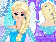 Elsa Royal Hairstyles Game