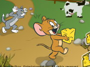 Tom and Jerry Cheese Chasing Maze Game