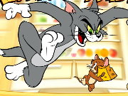 Tom and Jerry Refridger Raiders Game