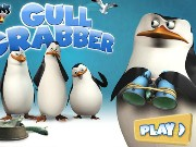 The Penguins Of Madagascar Gull Grabber Game