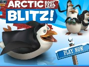 The Penguins of Madagascar Arctic Boot Camp Blitz Game