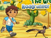 Diego The Great Roadrunner Race Game