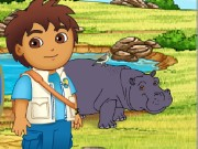 Diego Hippo Adventure Game