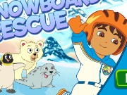 Diego Snowboard Rescue Game