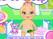 Baby Bathing Time To Sleep Game