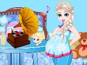 queen Elsa Pregnancy Game