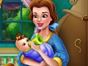 Belle Baby Feeding Game