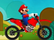 Mario Motorcycle Rush Game