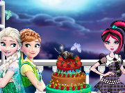 Frozen Monster High Cake Decor Game