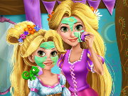 Rapunzel Mommy Real Makeover Game