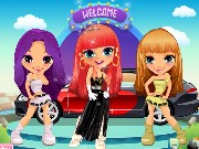 Auto Show Girls Dress Up Game