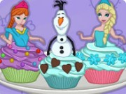 Cooking Academy Elsa Cupcakes Game