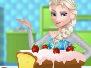 Elsa Cooking Classic Pound Cake Game