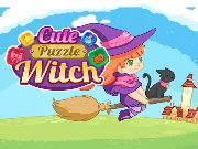 Cute Puzzle Witch Game