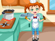 Clumsy Chef Laundry Game