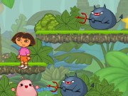 Dora in the Jungle Game