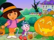 puzzle di dora halloween
