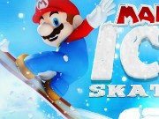 Mario Ice Skating Game