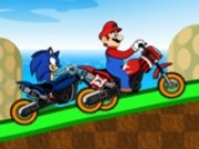 Mario Sonic Racer Game