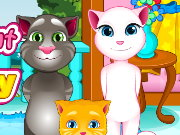 Tom Cat Care Baby Game