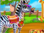 Zebra Caring Game